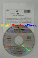 CD PROMO RADIO COLUMBIA EPIC SONY 2 PRM 195 vernice general lp mc dvd vhs (S5) 2