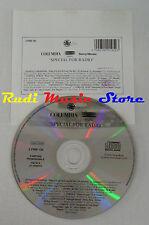 CD PROMO RADIO COLUMBIA EPIC SONY 2 PRM 195 vernice general lp mc dvd vhs (S5) 2
