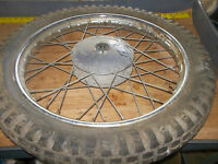 Harley 197? 125 sx front rim/hub/ I have more parts for this bike/others