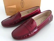 new TOD'S women's Gommini patent driving shoes 41 11 US $425