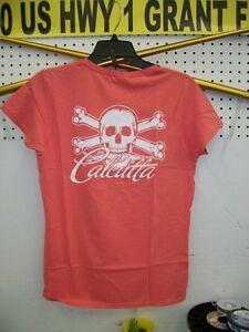 NEW CALCUTTA LADIES CORAL/WHITE LOGO 4794-0061..64
