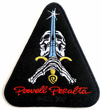 POWELL PERALTA SKULL AND SWORD PATCH, DRESS UP YO RAGGEDY ASS!