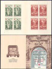 France 1970 Red Cross/Medical/Health/Welfare/Angel/Art/Painting 8v bklt (b4479j)