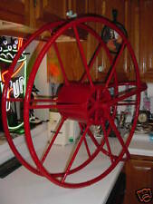 SS UNITED STATES LINES  Fire Hose Reel  /  Forward Engine Room  /  with Brackets