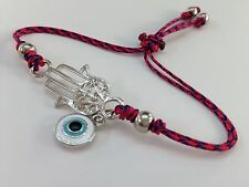 Bracelet Hand Of Fatima and Turkish eye protects from bad vibes and the enemy