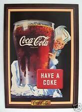 """Coca Cola RARE """"Tuff Stuff Collect"""" Insert Card - 1945 Sprite Boy Ad - NEW 1994"""