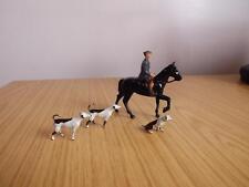 T104: Piombo Britains CACCIA cani e Rider