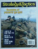 Strategy & Tactics Magazine #323: Rangers at Pointe Du Hoc Jul-Aug 2020 Battles
