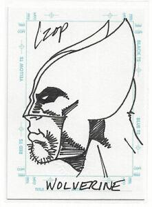 1998 SKYBOX MARVEL CREATOR'S COLLECTION - WOLVERINE SKETCHAGRAPH - JOHN CZOP