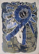André MARCHAND (1907-1997) Lithographie Années 60. Signée dans la planche.