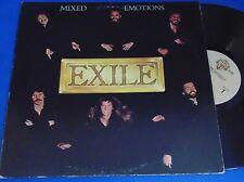 Exile -- Mixed Emotions  -- LP -- VG+ Vinyl