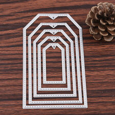 5Pcs/kit Metal Cutting Dies Stencil Scrapbooking Paper Card Embossing DIY Crafts