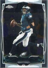 Topps Chrome Football 2014 Veteran Card #109 Nick Foles - Philadelphia Eagles