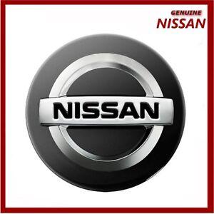 Genuine Nissan Qashqai, Juke, Note, Pearl Black Alloy Wheel Centre Cap x1 Z11