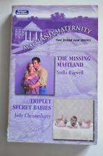 mills and boon p/back. maitland maternity 2  stories 2005