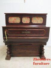 Antique Hand Crank Barrel Street Organ Piano Antonio Apruzzese Manubrio