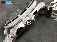 """S"" Crown for Seiko SKX007, SKX009, 7002, 011, A55, 7s26, 7s26, NH35, NH36, 4r36"