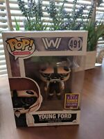 Funko Pop Television 491 Westworld Exclusive SDCC Young Ford Rare Figure