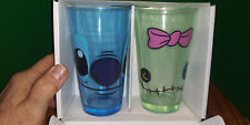 rare Lilo Stitch Glassware set 16oz pint glasses mugs cups