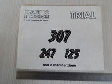Manuale uso manutenzione originale Fantic trial 307 247 125