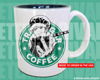 Trafagar D. Water Law Piece Starbucks Anime Manga Insipred Mug