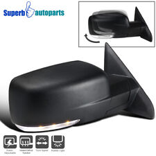 For 2013-2019 Ram 1500 Right Side Mirror w/ Power Heated + Signal Puddle Light