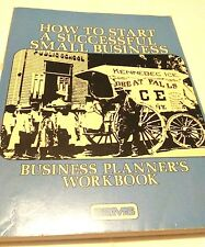 How To Start a Successful Small Business Planner's Workbook by SBMS - 1984 VTG