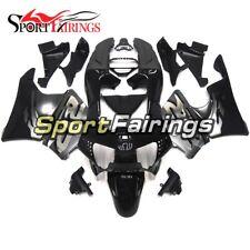 ABS Full Fairings For Honda CBR900RR 919 1998-1999 Silver Black Panels Hulls
