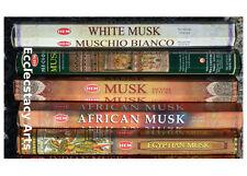 Hem Musk-White Musk-Precious Musk-Egyptian Musk-African Musk-Incense Sampler