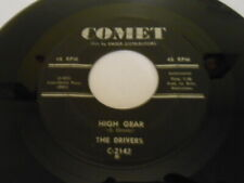 The Drivers, High Gear Low Gear, Comet Record 45, Vg++