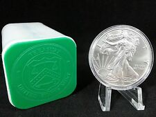2017 Silver Eagle - Coin Capsule - Mint Tube