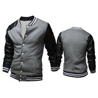 Men's New fashion casual Coat cotton warm winter coat slim outwear jacket