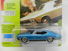 2018 Johnny Lightning *CLASSIC GOLD 1B* BLUE 1968 Chevrolet Chevelle SS NIP