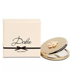Dolce & Gabbaba DOLCE Compact Mirror 2.75 inch with Flower Limited Edition NEW