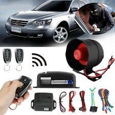 Universal Car Alarm System Security Keyless Entry Push Button Remote Kit