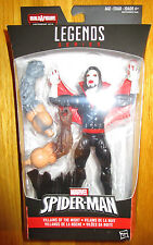 "Marvel Legends Infinite MORBIUS 6"" Figure BAF ABSORBING MAN SPIDERMAN VILLAIN"
