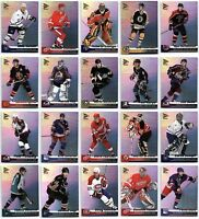 2002-03 MCDONALDS PACIFIC HOCKEY COMPLETE 42 CARD SET LOT w/ Checklists Rare BV