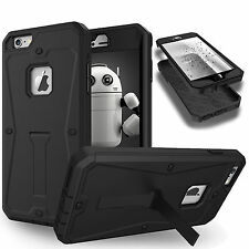 Shockproof Heavy Duty Built Screen Armor Case Stand Cover For iPhone 6 6S 7 Plus