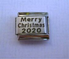 9mm Italian Charms P34 Xmas Happy Merry Christmas 2020 Fits Classic Size