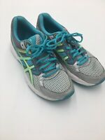 Asics Women's Size 8.5 Blue Gel Contend 3 Lace Up Athletic Running Shoes T5F9N