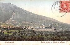 BR37232 El Escorial Vista desde la Silla de Felicpe II spain