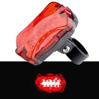 Cycling Bicycle Bike Tail Light 5 LED Flashing Lamp Light Rear Safety Warning