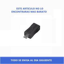 Mini USB hembra a micro USB macho Adaptador de datos conector de cargador  XM