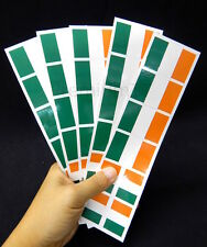 40 Removable Stickers: Ireland Flag, Irish Party Favors, Decals