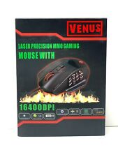 Gaming Mouse RGB Wired UtechSmart 16400 DPI High Precision Laser Programmable SE