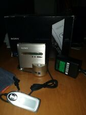 SONY MZ-NH1 HI-MD PORTABLE MINIDISC RECORDER / PLAYER WALKMAN & EXTRAS