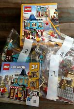 Lego Creator 3 in 1 Townhouse Toy Store (31105) NEW in OPENED DAMAGED BOX