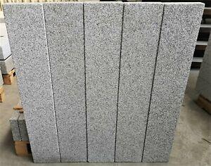 Rasenkante Stele Palisade Beeteinfasung Granit 6x20x100cm 32 Stück