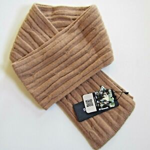 Luxury cable scarf Merino Possum