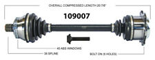 CV Axle Shaft-New Front Left WorldParts 109007